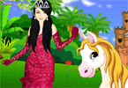 Princess With Horse